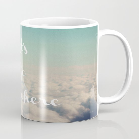 Let's Go Anywhere Mug