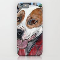 iPhone & iPod Case featuring Pit Bull Joy Ride by WOOF Factory