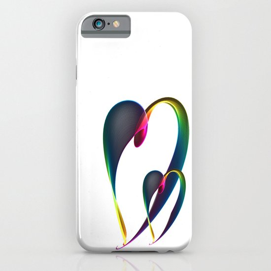 Hearts 5 iPhone & iPod Case