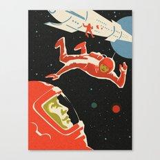 Cosmonauts Canvas Print