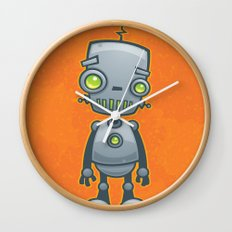 Silly Robot Wall Clock