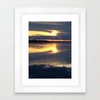 Sunset Study - # 22 Framed Art Print
