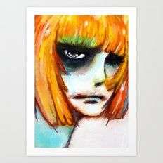 SO HAPPY Art Print