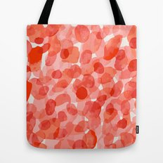 red storm Tote Bag