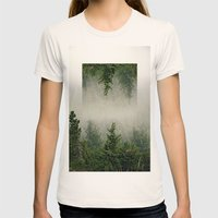 Forest Womens Fitted Tee Natural SMALL