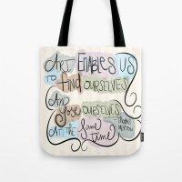 Art Enables Us Tote Bag