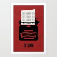 The Shining - Minimalist… Art Print