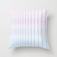 Circle Gradient Throw Pillow