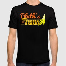 Bluth's Frozen Banana Mens Fitted Tee Black SMALL