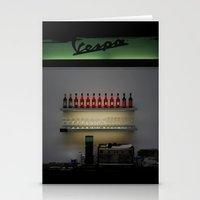 Vespa Bar Stationery Cards
