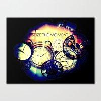 Seize The Moment Canvas Print