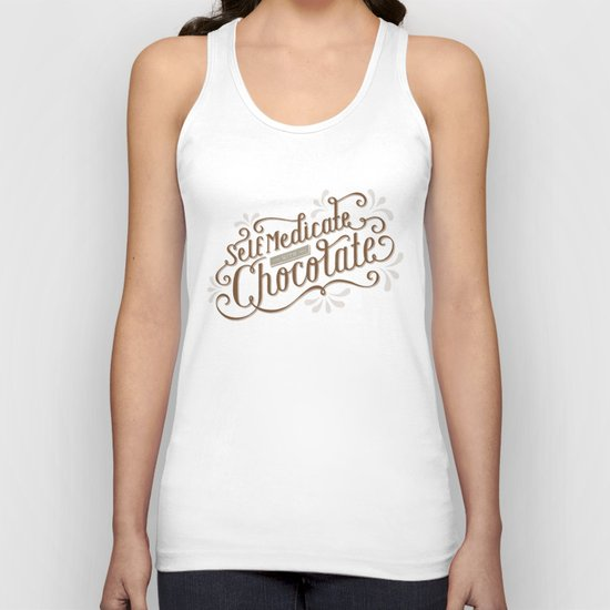 Chocolate RX Unisex Tank Top