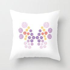 Vivillon Elegant Form Throw Pillow