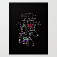 Be You Art Print