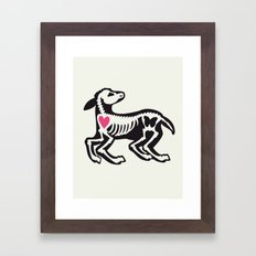 Lamb - Animal Series Framed Art Print