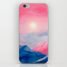 Pastel vibes watercolor 01 iPhone & iPod Skin