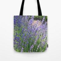 Lavender Wave Tote Bag