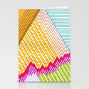 Isometric Harlequin #6 Stationery Cards