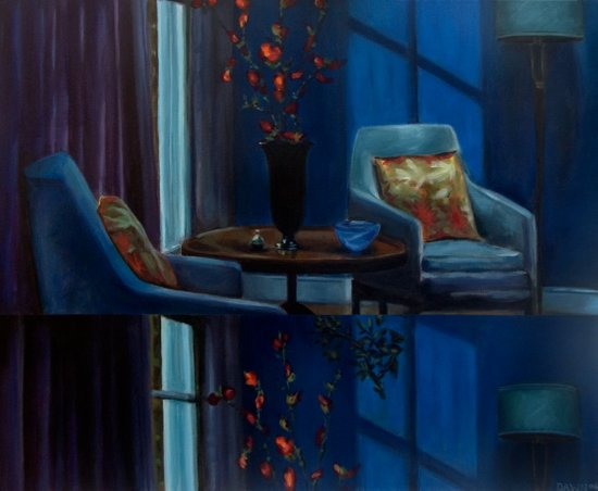 The twilight of Cathy Whitaker VACANCY zine Art Print