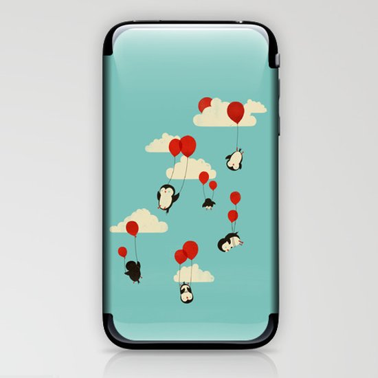 We Can Fly! iPhone & iPod Skin