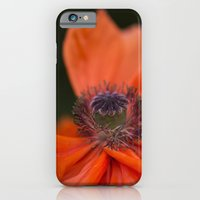 iPhone Cases featuring Poppyqueen by UtArt