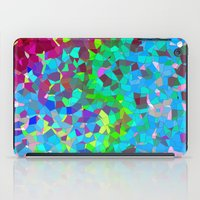 colourful abstract. iPad Case
