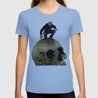 Leroy And The Giant's Gi… Womens Fitted Tee Athletic Blue SMALL