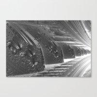 Cannon Battery (Desaturate) Canvas Print
