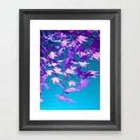 Purple Tree XXIIX Framed Art Print