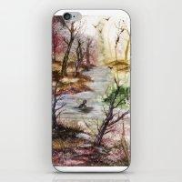 Gaze And Adapt iPhone & iPod Skin