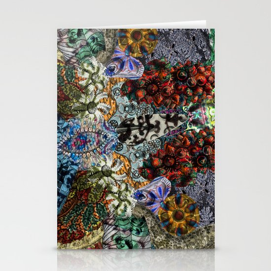 Psychedelic Botanical 15 Stationery Card