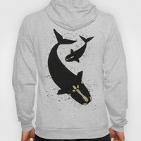 Right Whales From Above Hoody