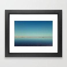 Blue Sea Framed Art Print