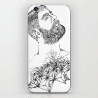 beard's star iPhone & iPod Skin