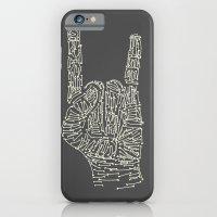 Horns Hand iPhone 6 Slim Case