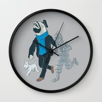 The Literal Adventures O… Wall Clock