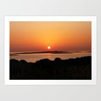 Tranquil Sunset, Paros I… Art Print