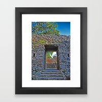 Rocky Passage Framed Art Print