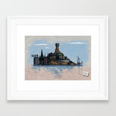 Use Verb on Noun #9: Myst Framed Art Print