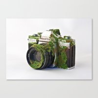 After We've Gone. Camera Uno Canvas Print