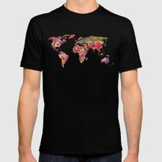 It's Your World Mens Fitted Tee Black SMALL