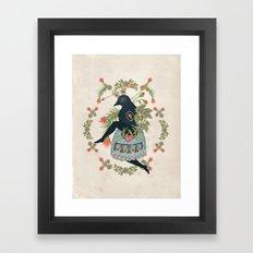 Bird Dance Framed Art Print