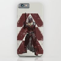 iPhone Cases featuring Gunslinger by mirodeniro