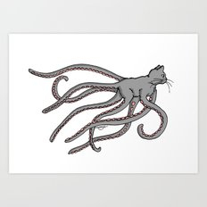 Octopussy (2014) colour Art Print