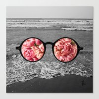 IFloral Canvas Print