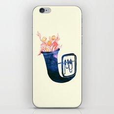 Natural Trumpet iPhone & iPod Skin