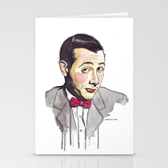 Pee Wee Stationery Card