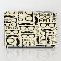 Hello, Bonjour iPad Case