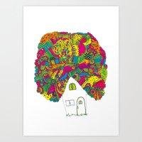 House Art Print