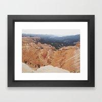 Cedar Breaks Framed Art Print